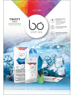 BŌ Caps Génération 2 Twisty Mint