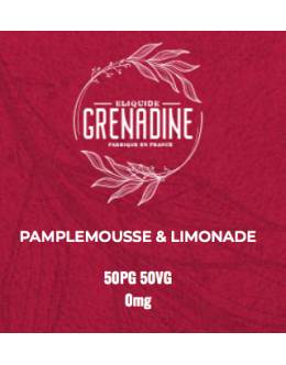 Pamplemouse Limonade