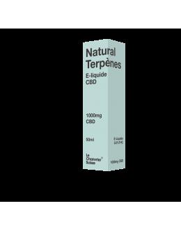 E-liquide 50ml-1000mg Natural Terpènes- Le Chanvier Suisse