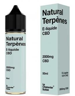 E-liquide 50ml - 2000mg Natural Terpènes- Le Chanvier Suisse