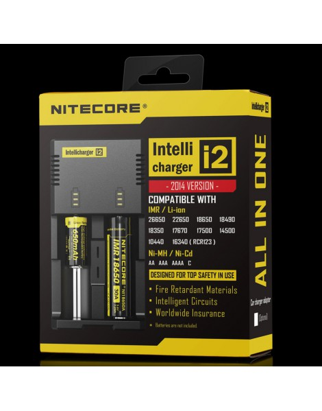 CHARGEUR BATTERIES I2 NITECORE